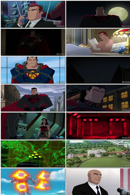 Superman Red Son (2020) Download Full Movie 480p 300MB WEB-DL || 7starhd
