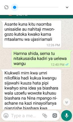 swali la msomaji