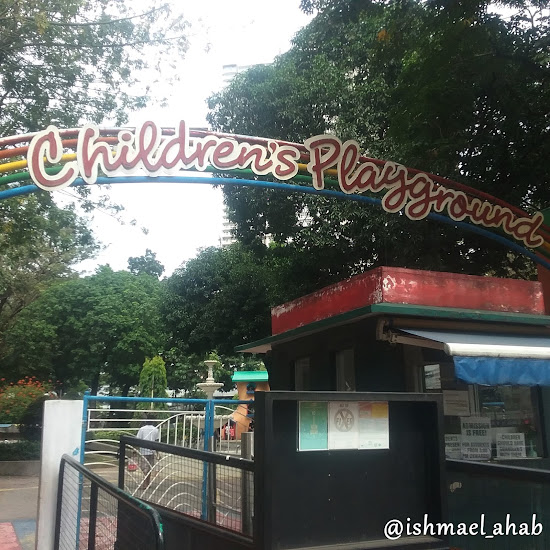 Entrance to Rizal Park Children's Playground