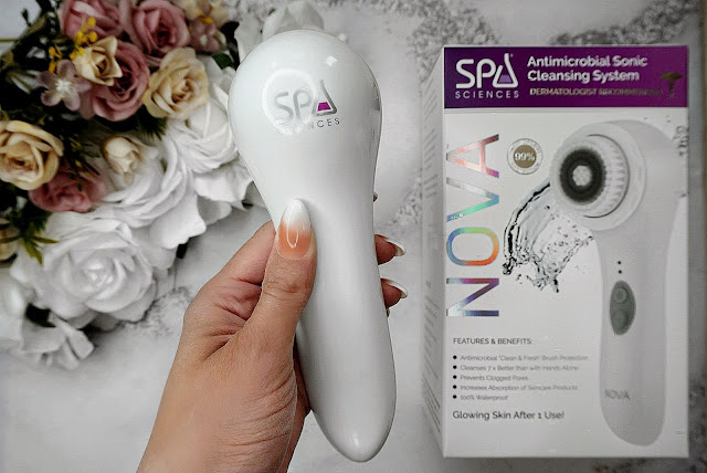 REVIEW OF THE NOVA ANTIMICROBIAL SONIC CLEANSING SYSTEM BY SPA SCIENCES NOVA