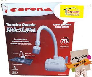 Torneira articulavel quente Corona