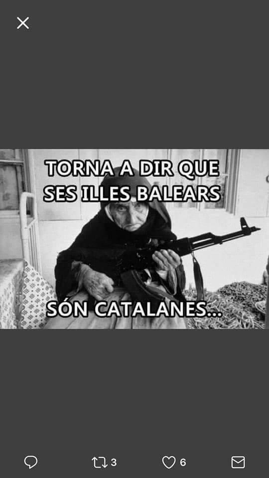 Torna a dir que ses illes Balears són catalanes