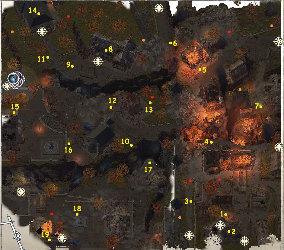 h Pathfinder Wrath of the Righteous: All the secrets of the Market Square location
