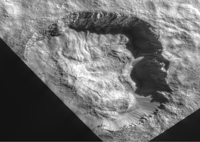Ancient Tower Found On Planet Ceres In Juling Crater