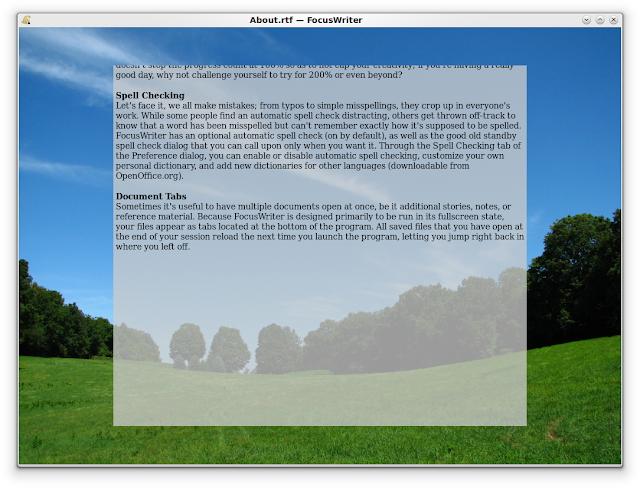Como instalar o Focuswriter 1.6.2 no Ubuntu, LinuxMint, ElementaryOS!