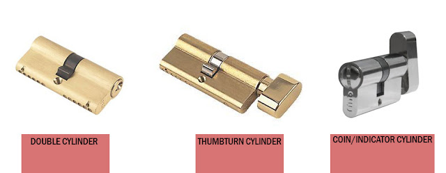 jenis-jenis anak kunci dan cylinder