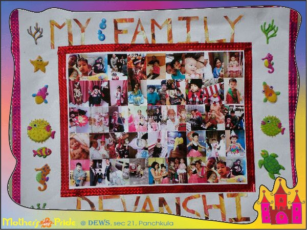 DEWS - The School, Panchkula: Family Collage making Competition ...