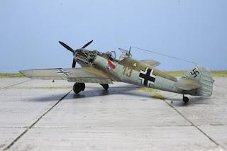 Bf 109 E-1 d'Eduard au 1/48.