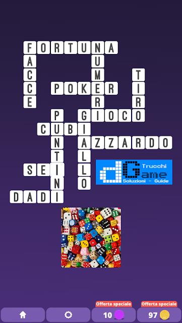 Soluzioni One Clue Crossword livello 26 schemi 9 (Cruciverba illustrato)  | Parole e foto