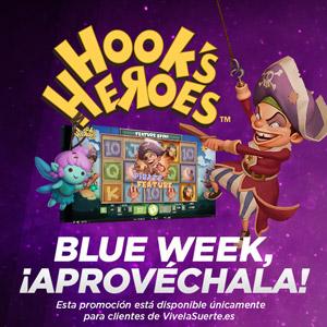 vivelasuerte promocion blue week 18-20 enero