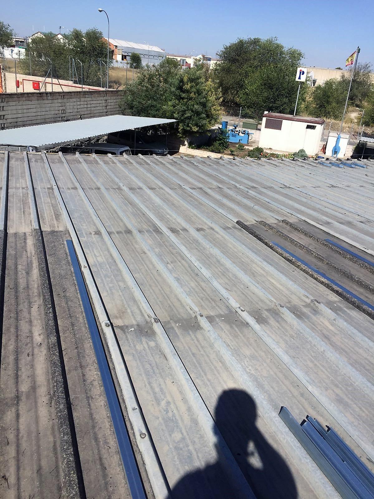 Tejados de chapa galvanizada y chapa trapezoidal precio for Precio de chapas de 6 metros