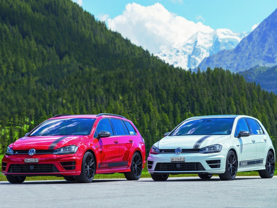 volkswagen unveils 355 hp golf r360s exclusively for switzerland. Black Bedroom Furniture Sets. Home Design Ideas