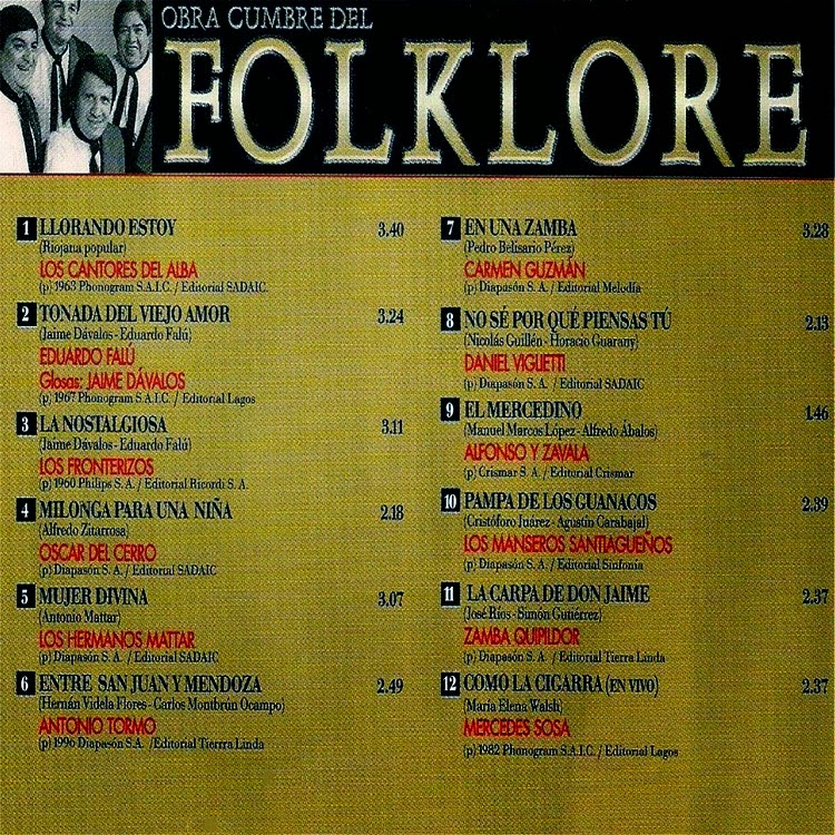 obras cumbres del folklore descargar mp3 19