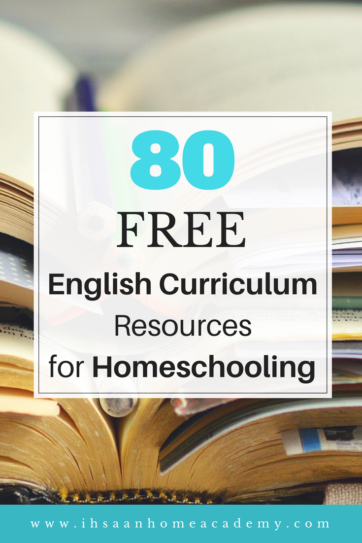 80 free english curriculum resources for homeschooling ihsaan home file links change when the locations change although i have the downloaded files of documents that may go missing fandeluxe Image collections