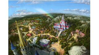New Fantasyland Tokyo Disneyland Concept Art