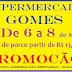Mega promoção no Supermercado Gomes, carnes com ótimos preços, venha conferir!!!