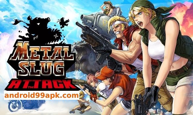 لعبة Metal Slug Attack v4.21.1 مهكرة (بحجم 63 MB) للأندرويد