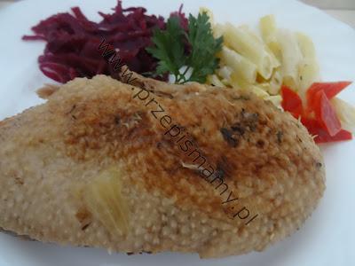 Filety z kaczki duszone