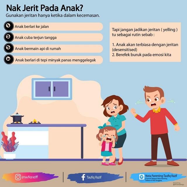 parenting tips, cara tegur anak