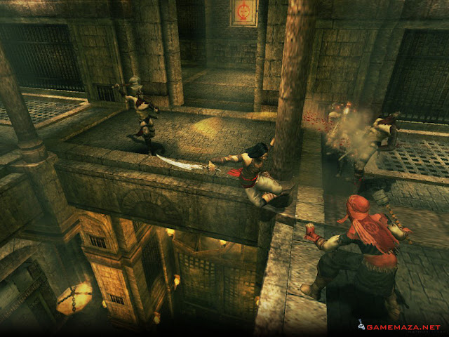 Prince of Persia Warrior Within Gameplay Screenshot 3