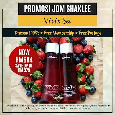 Promosi Jom Shaklee Vivix