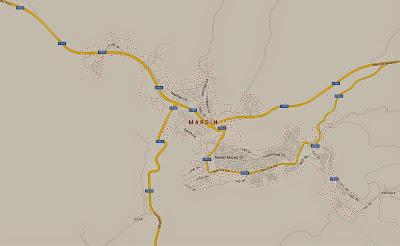 Mapa de acesso a Mardin – Turquia
