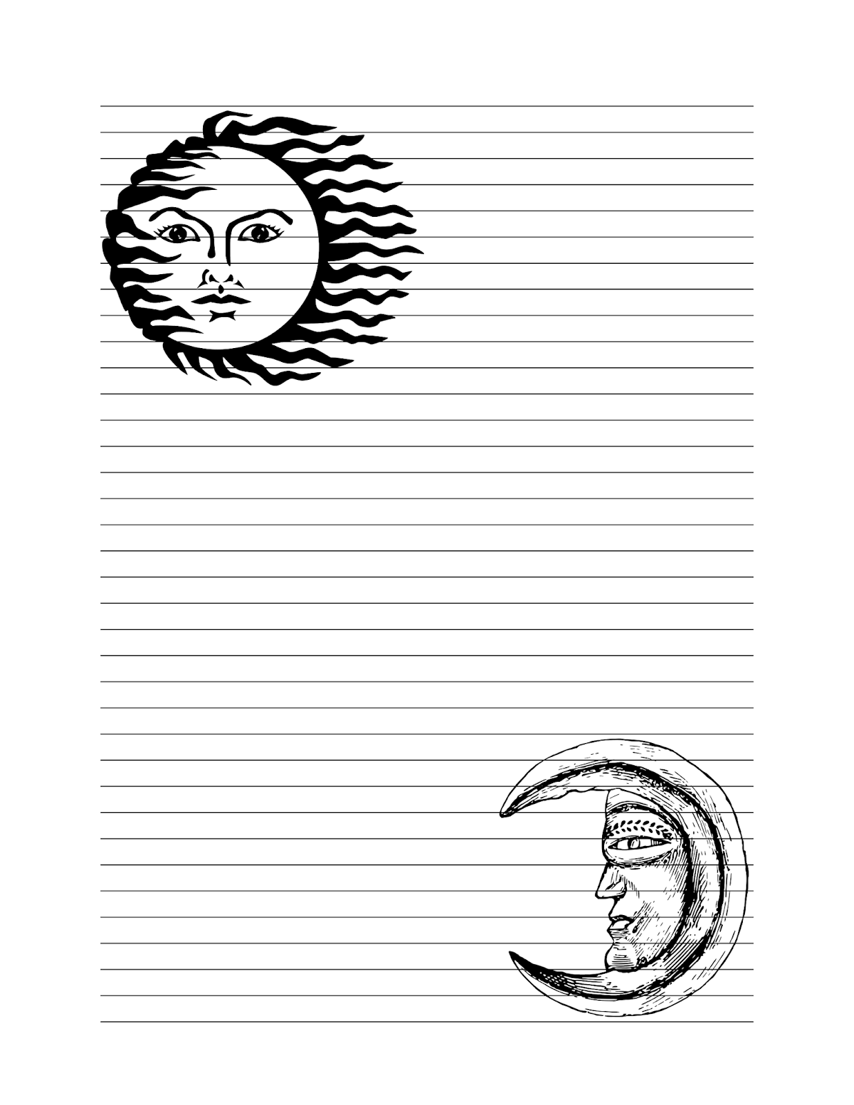 Build A Book Of Shadows Sun And Moon Journal Pages