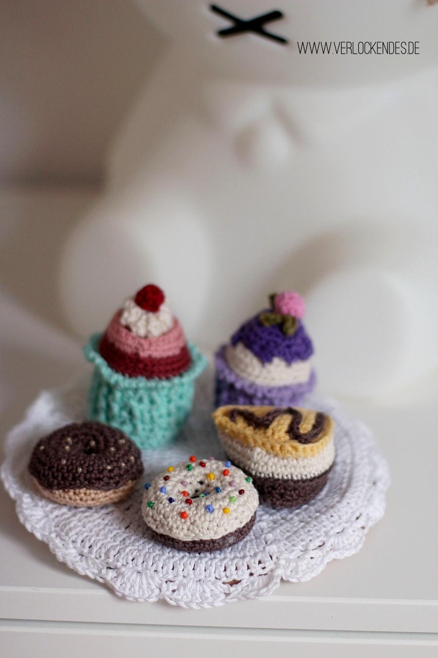 Donut Kuchen gehäkelt