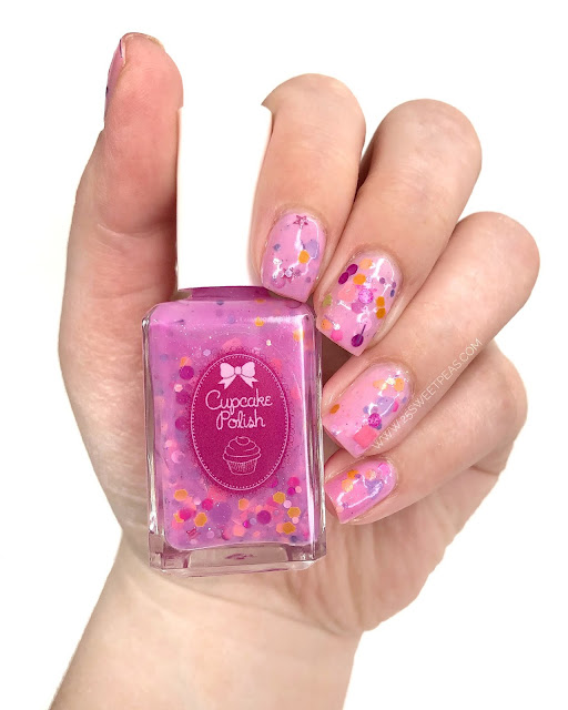 Cupcake Polish Jelly Shoes 25 Sweetpeas