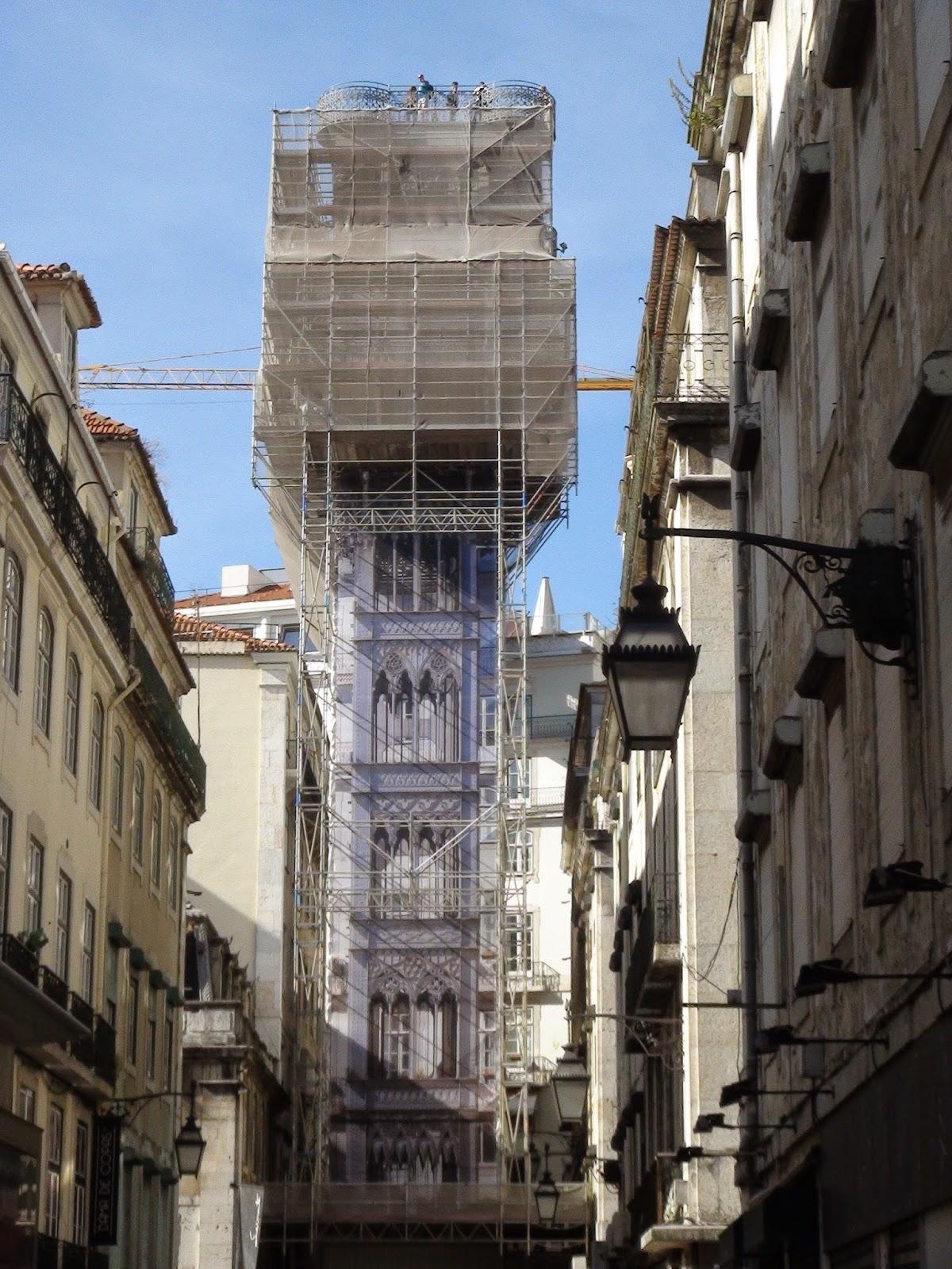 Ascenseur de Santa Justa - Lisboa - Lisbon - Lisbonne