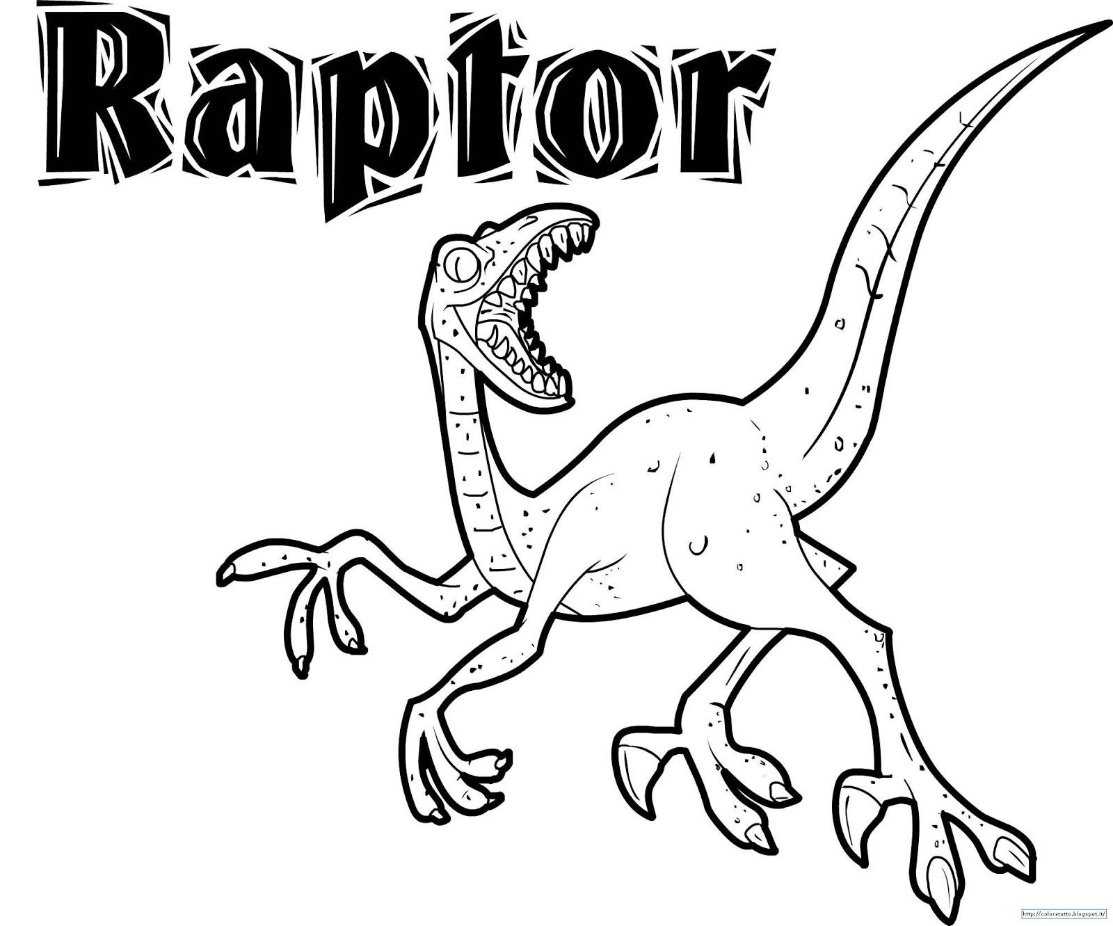 raptors coloring pages - photo #24