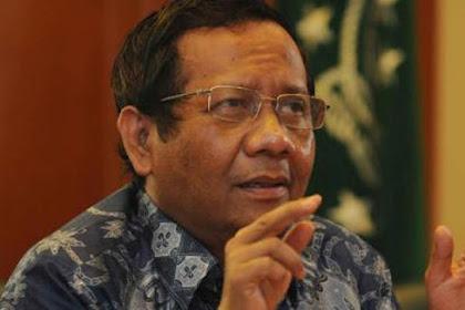 Tanggapi Putusan MK, Mahfud MD: yang Dzalim dan Dusta Akan Diazab