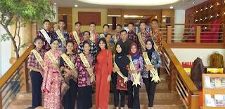 Malam Grand Final Duta Seni Budaya Dan Pariwisata Provinsi Jambi Datangkan Juara Tiga Miss Supranational