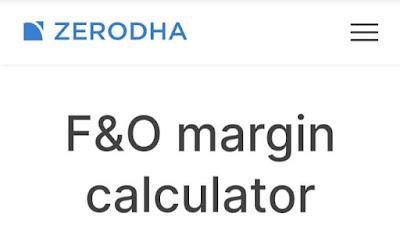 Zerodha Margin Calculator, Zerodha Margin For Commodity