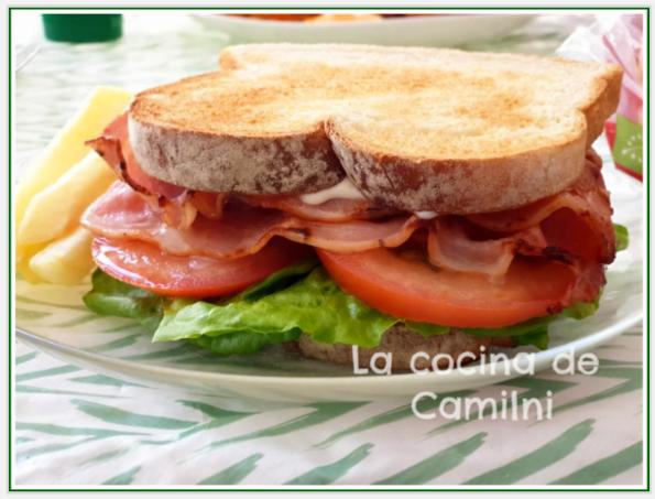Sándwich BLT (La cocina de Camilni)