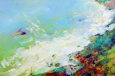 uk landscape in oil sue gardner large seascape painting artfinder