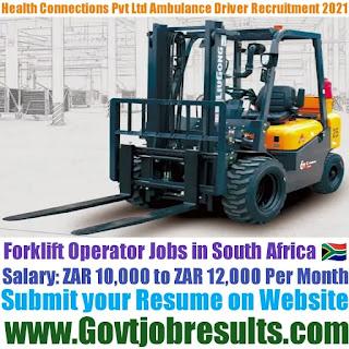 C Force Forklift Operator Recruitment 2021-22