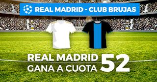 Paston Megacuota Champions Real Madrid vs Brujas 1-10-2019