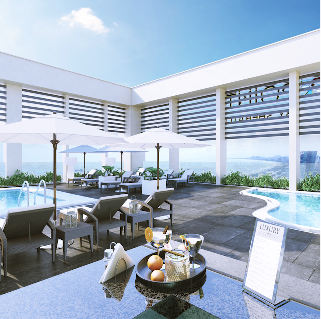 Tiện ích 5 sao của Luxury Apartment Đà Nẵng