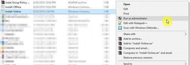 Cara Mengaktifkan Gpedit.msc di Windows 10 Home