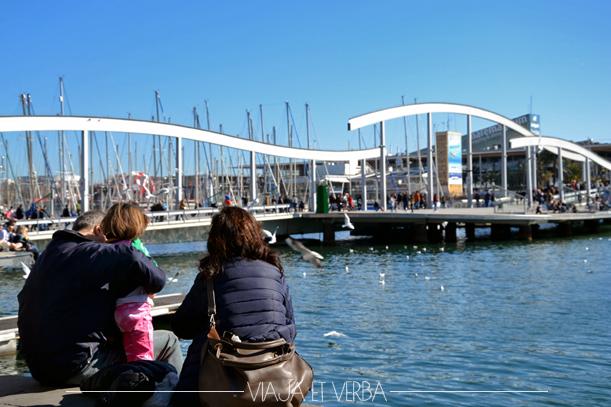 Puerto de Barcelona. Viajaetverba