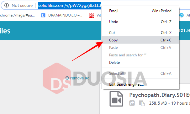 cara download file di solidfiles mudah