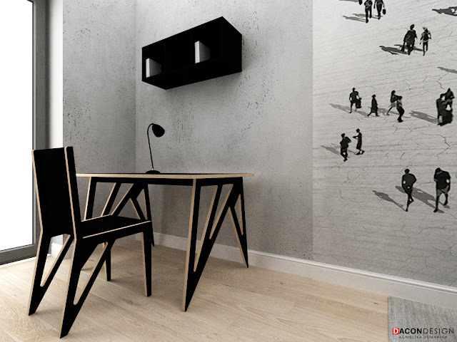 dacon-design-wroclaw-projekty-wnetrz-aranzacja-projekty-mebli-sklejka-biurko-biuro-tapeta-wallanddeco