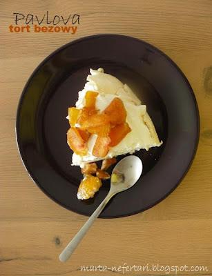 pavlova, czyli tort bezowy
