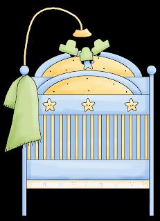 Cunas del Clipart Bebé en Camino.