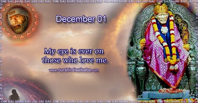 My Sai Blessings - Daily Blessing Messages-Shirdi Sai Baba Today Message 1-12-19