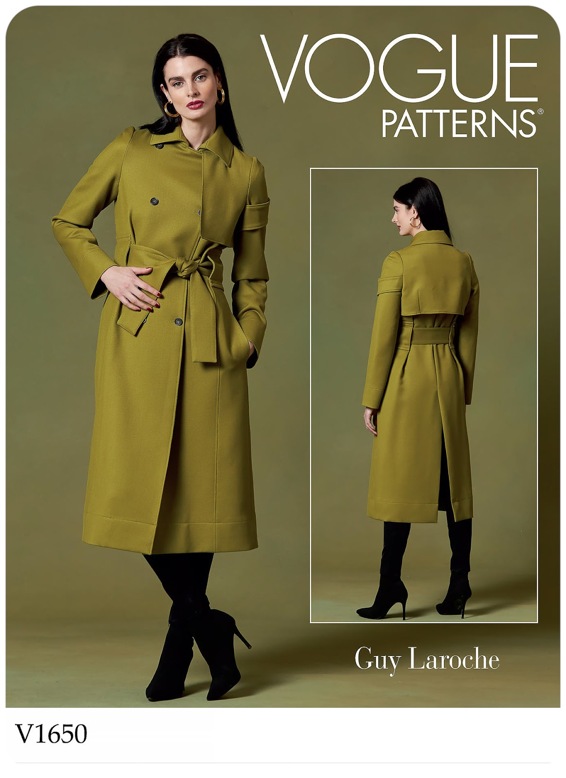 Vogue Patterns 1650 - #V1650