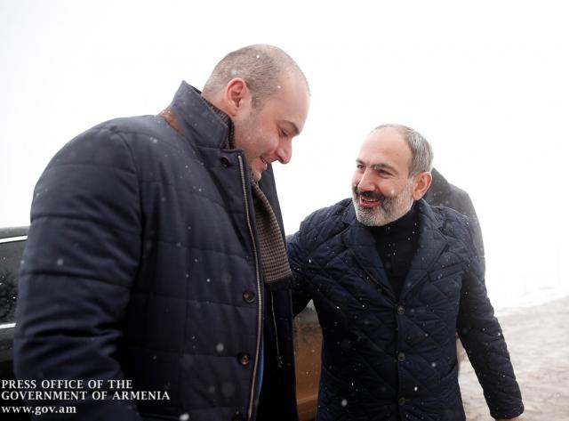 Reunión de lideres en de Armenia y Georgia en Yenokavan