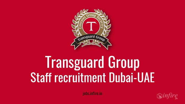Staff Recruitment at Emirates Transguard Group-Dubai - Apply Now