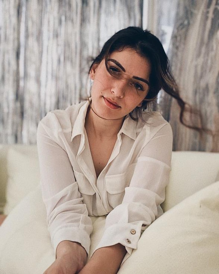 Hansika Motwani in White Outfit Instagram Photos Images Wallpapers Download Free